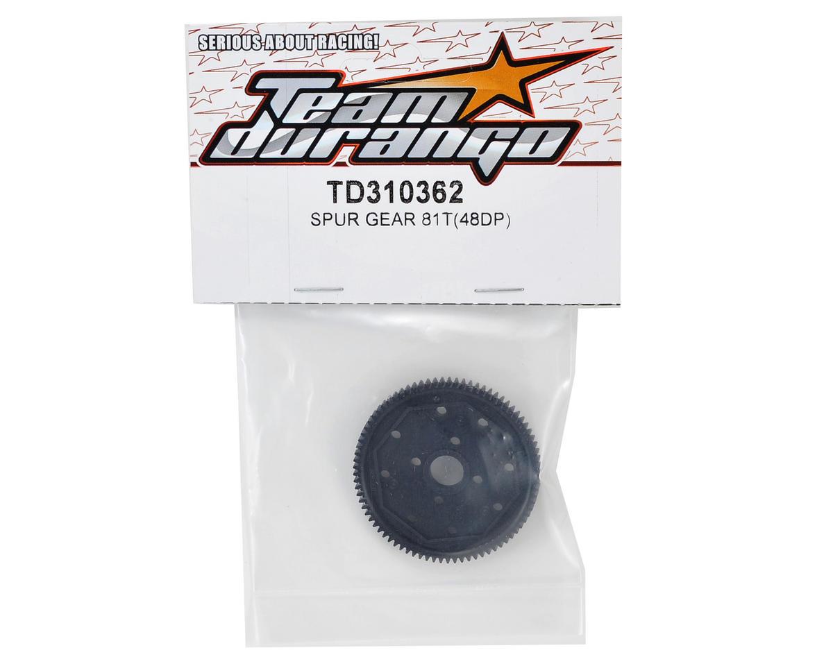 Team Durango 48P Spur Gear (81T)