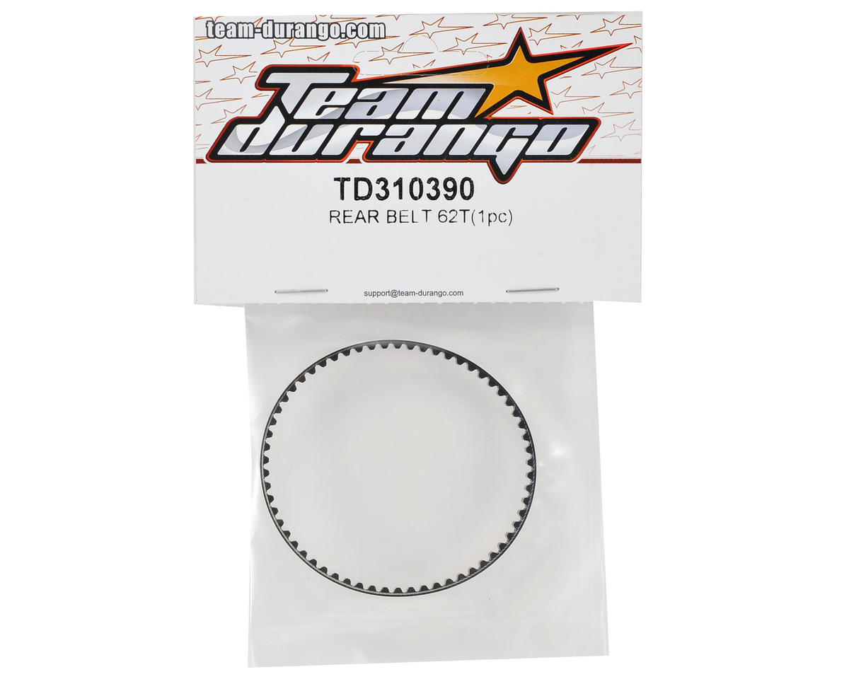 Team Durango Rear Belt (62T)