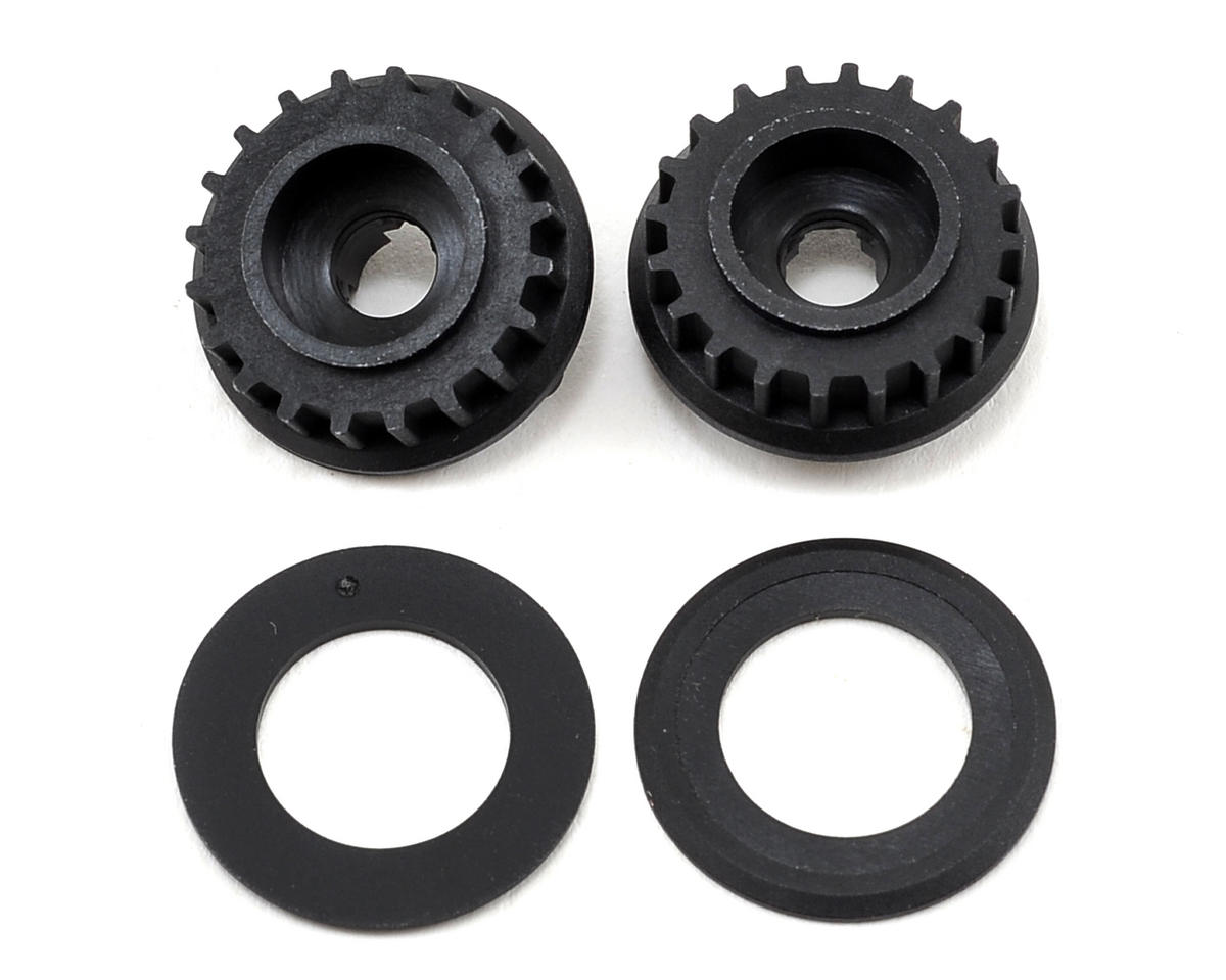 Team Durango Composite Layshaft Pulley (2) (20T)