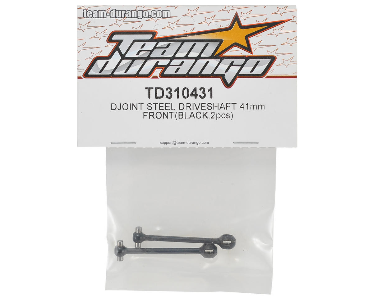 Team Durango 41mm Front D-Joint Driveshaft (2)
