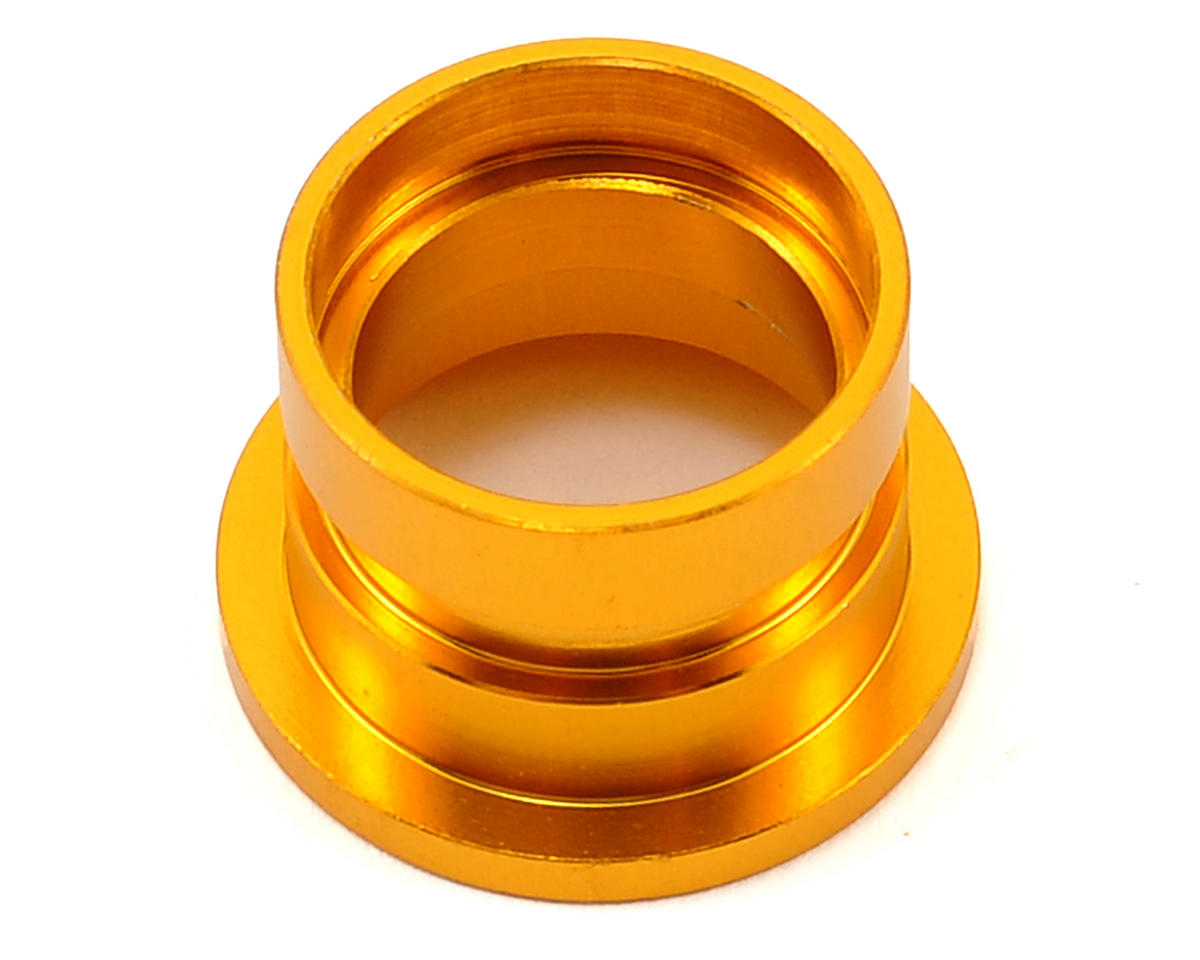 Team Durango DEX408 V2 Aluminum Gear Bearing Tube (Gold)