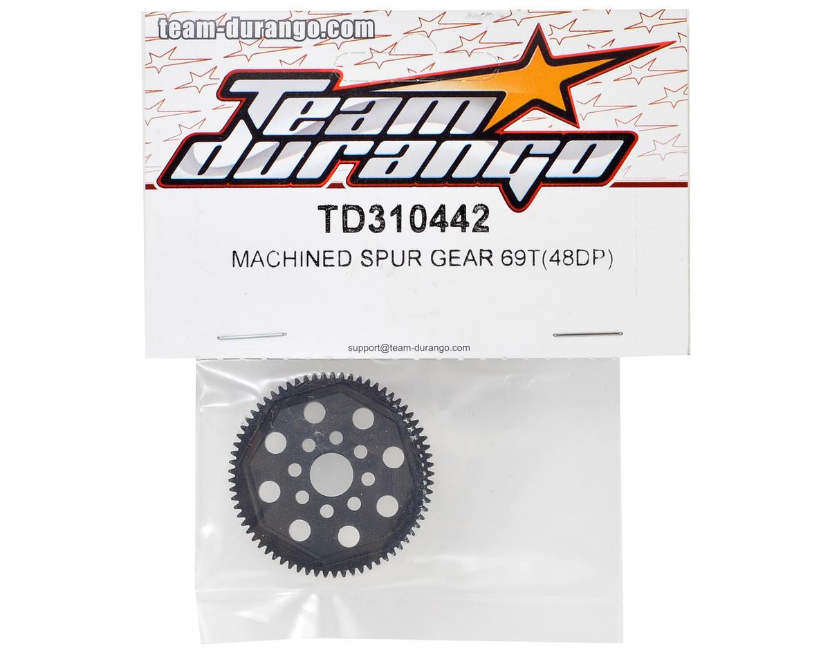 Team Durango 48P Machined Spur Gear (69T)