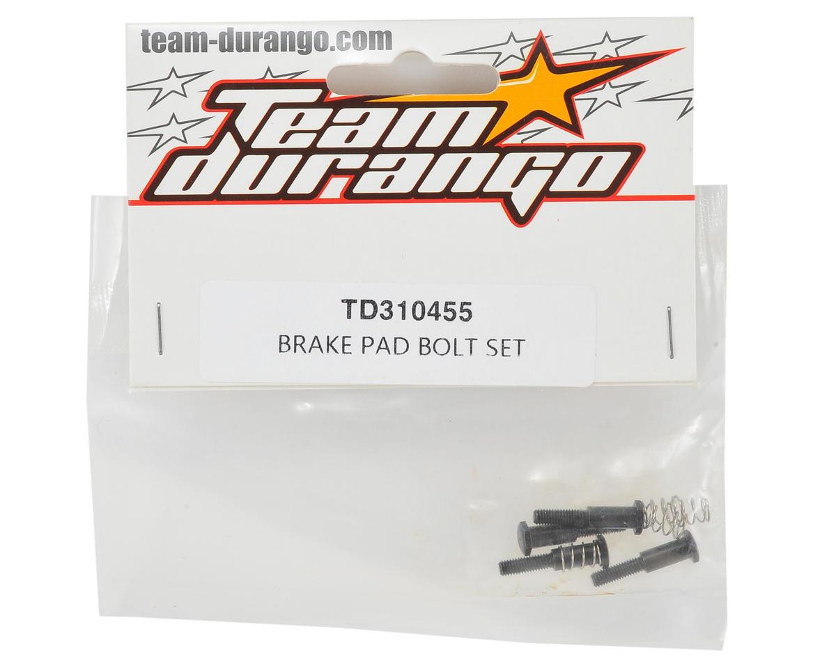Team Durango Brake Pad Bolts (4)