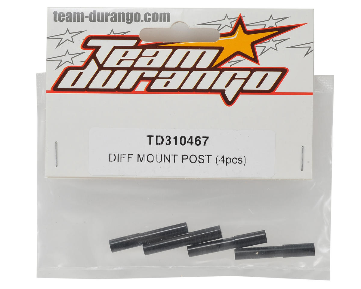 Team Durango Differential Mount Post (4)