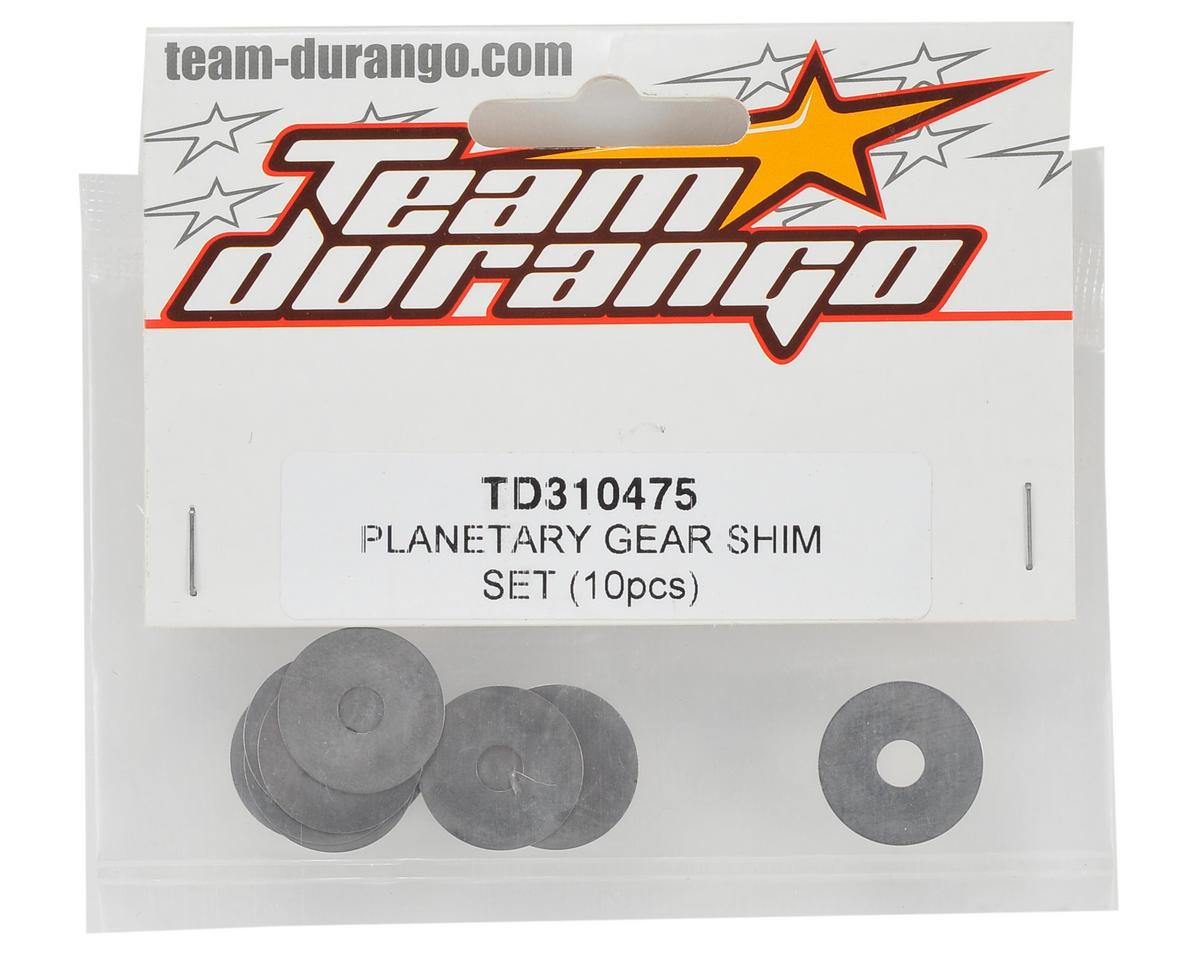 Team Durango Planetary Gear Shim Set (10)