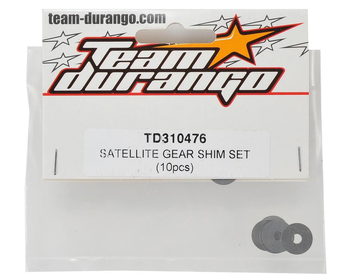 Team Durango Satellite Gear Shim Set (10)