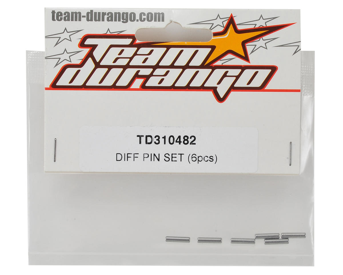 Team Durango Differential Pin Set (6)