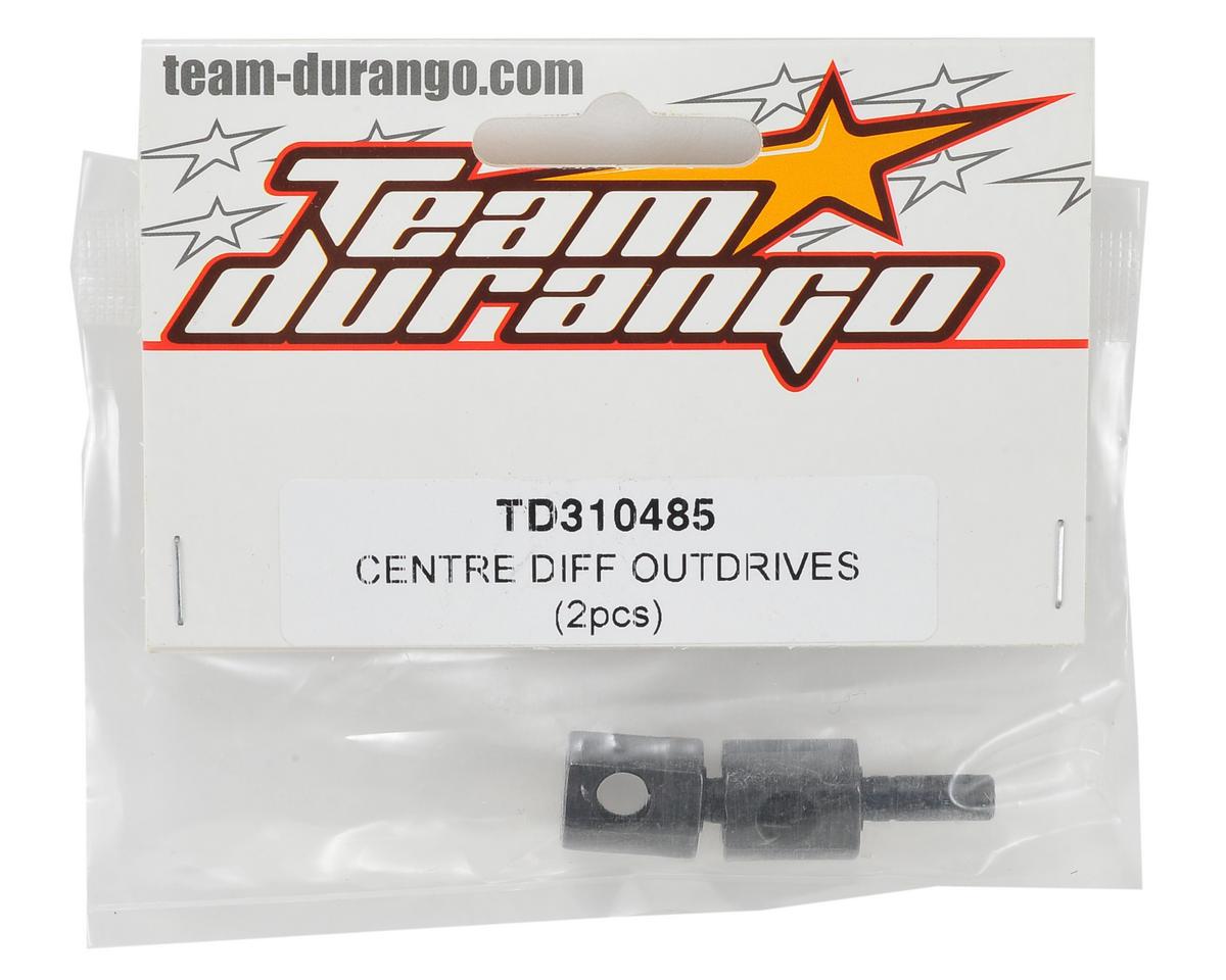Team Durango Center Differential Outdrive Set (2)