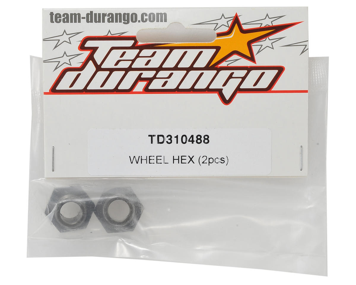 Team Durango 17mm Wheel Hex (2)