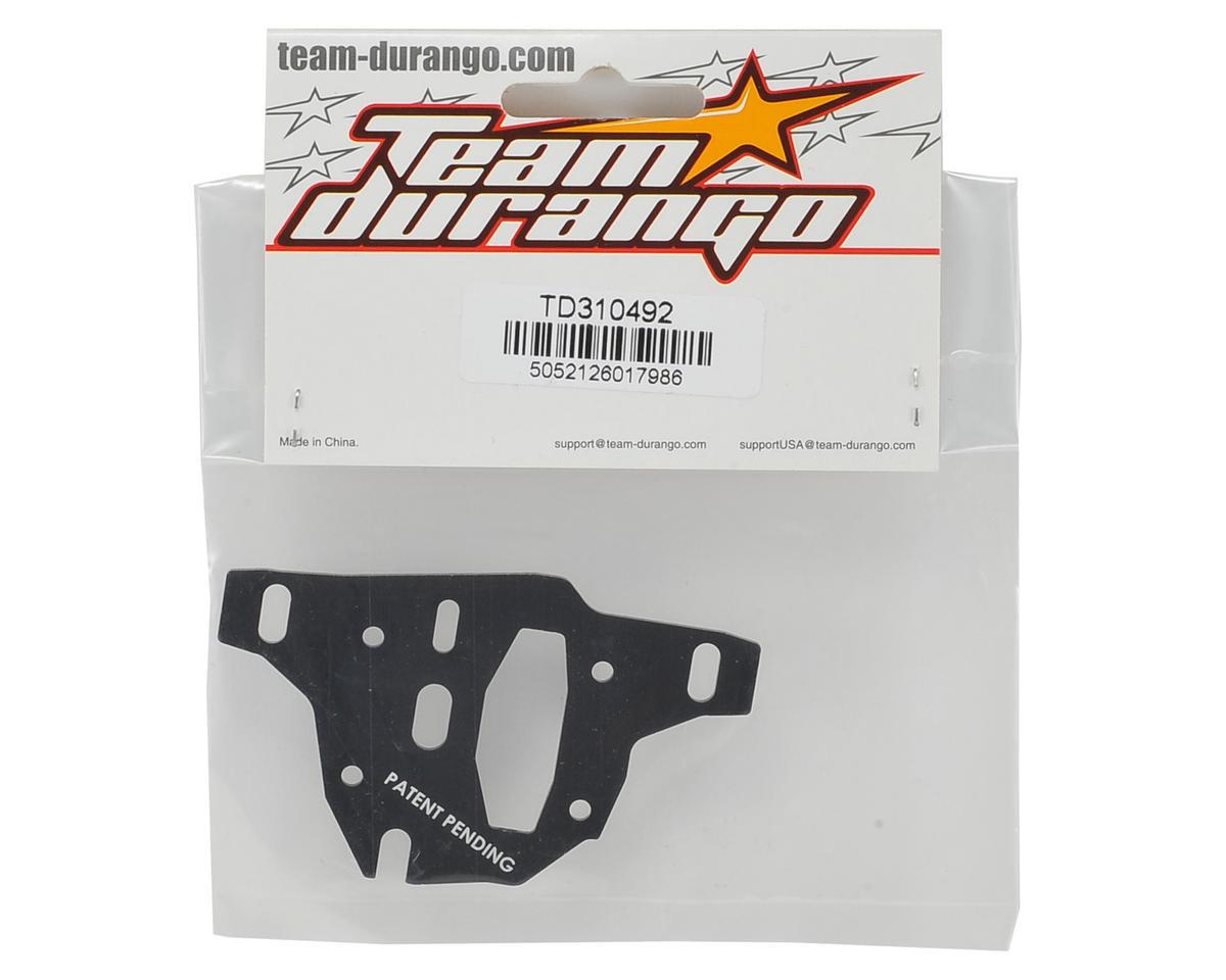 Team Durango Center Differential Slider Plate