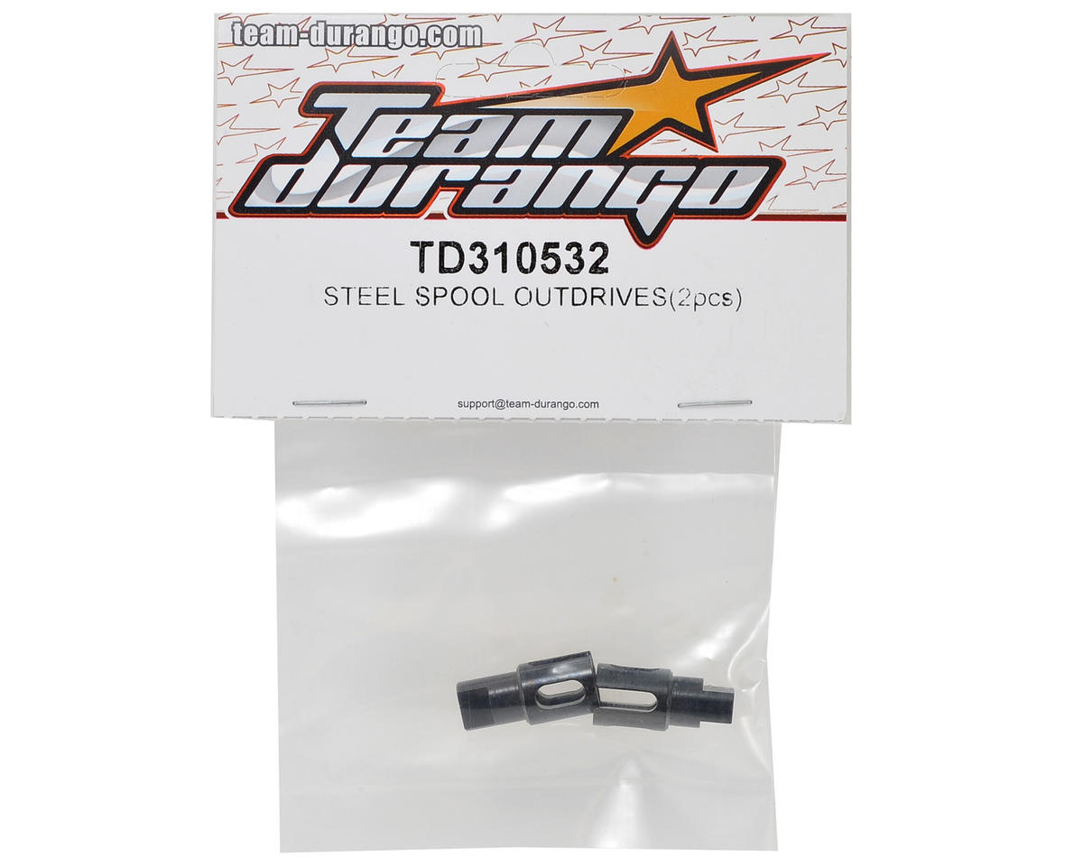 Team Durango Steel Spool Outdrive (2)