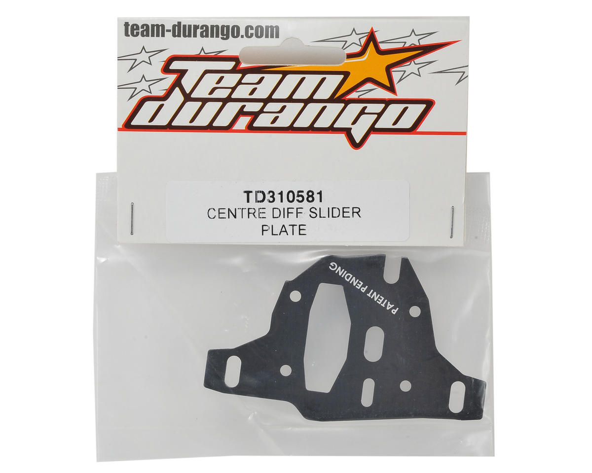 Team Durango Center Differential Slider Plate