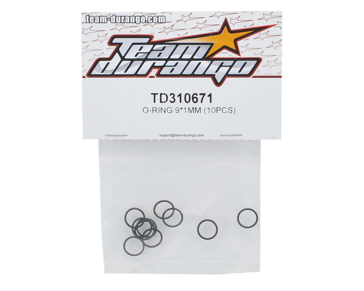 Team Durango 9x1mm O-Ring (10)