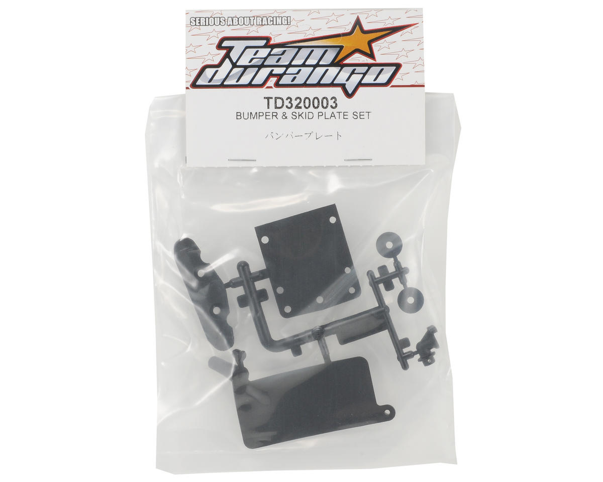 Team Durango Bumper & Skid Plate Set