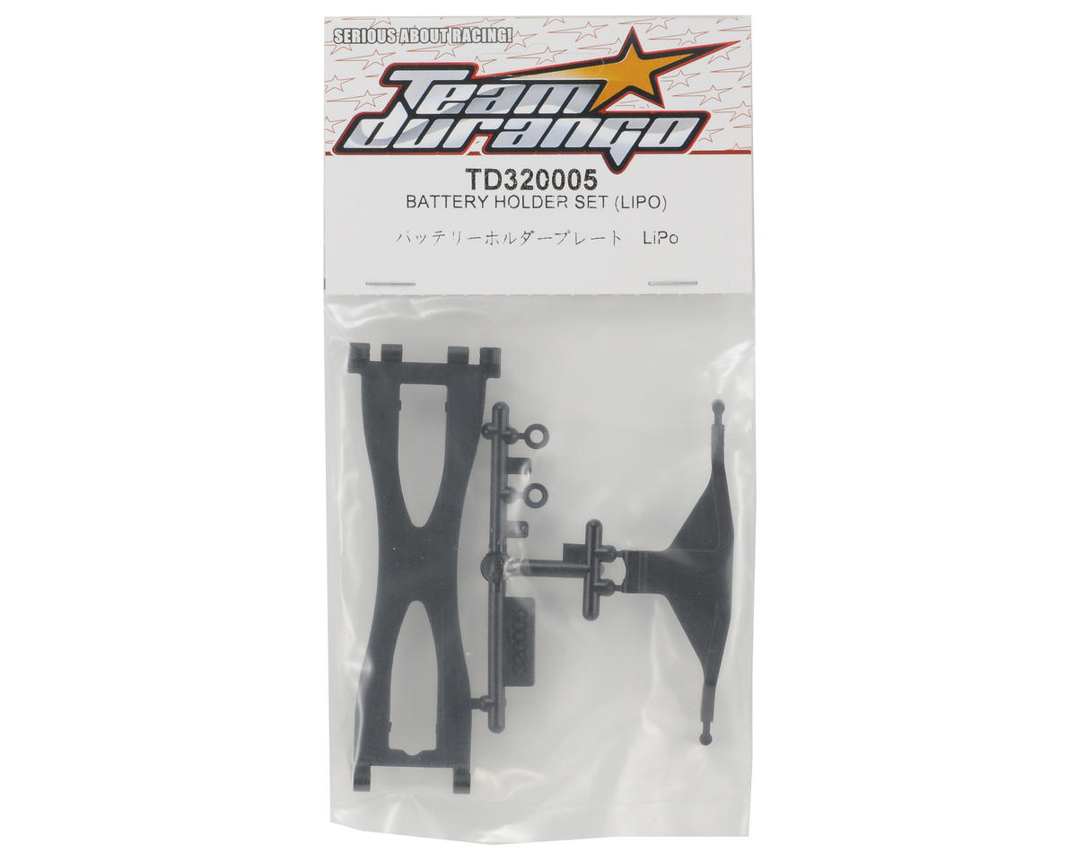 Team Durango LiPo Battery Holder Set