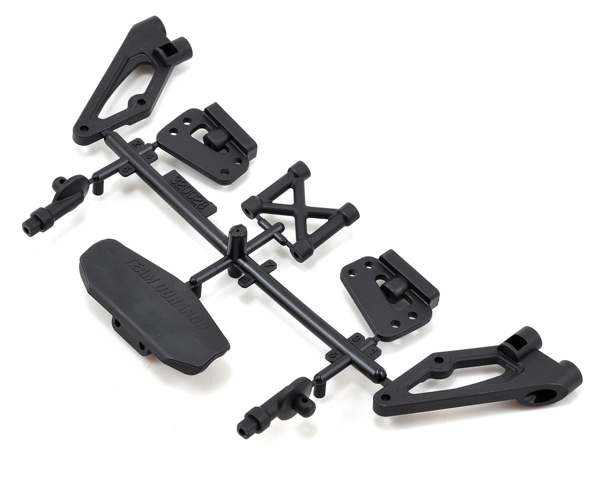 Team Durango Bumper, Body & Wing Mount Set