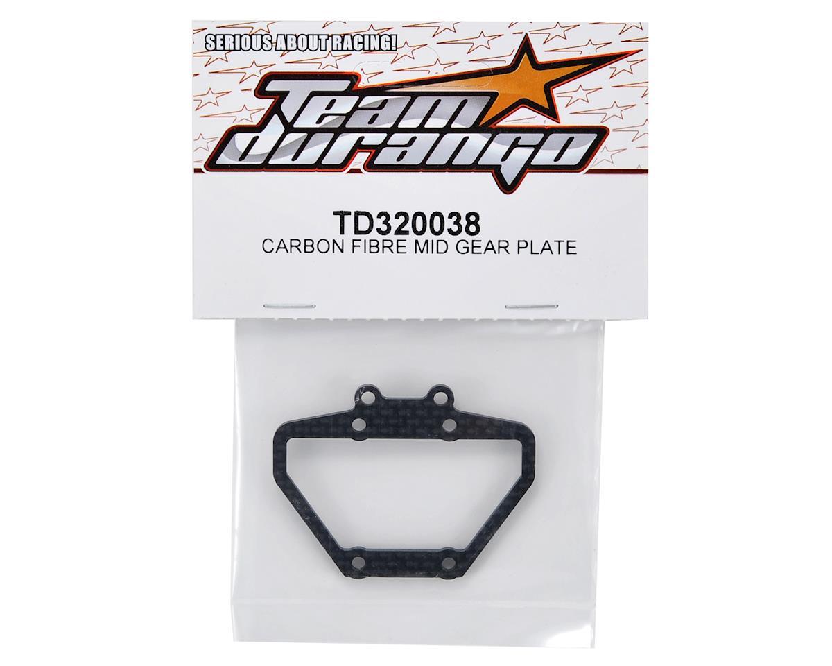 Team Durango Carbon Fiber Mid Gear Plate