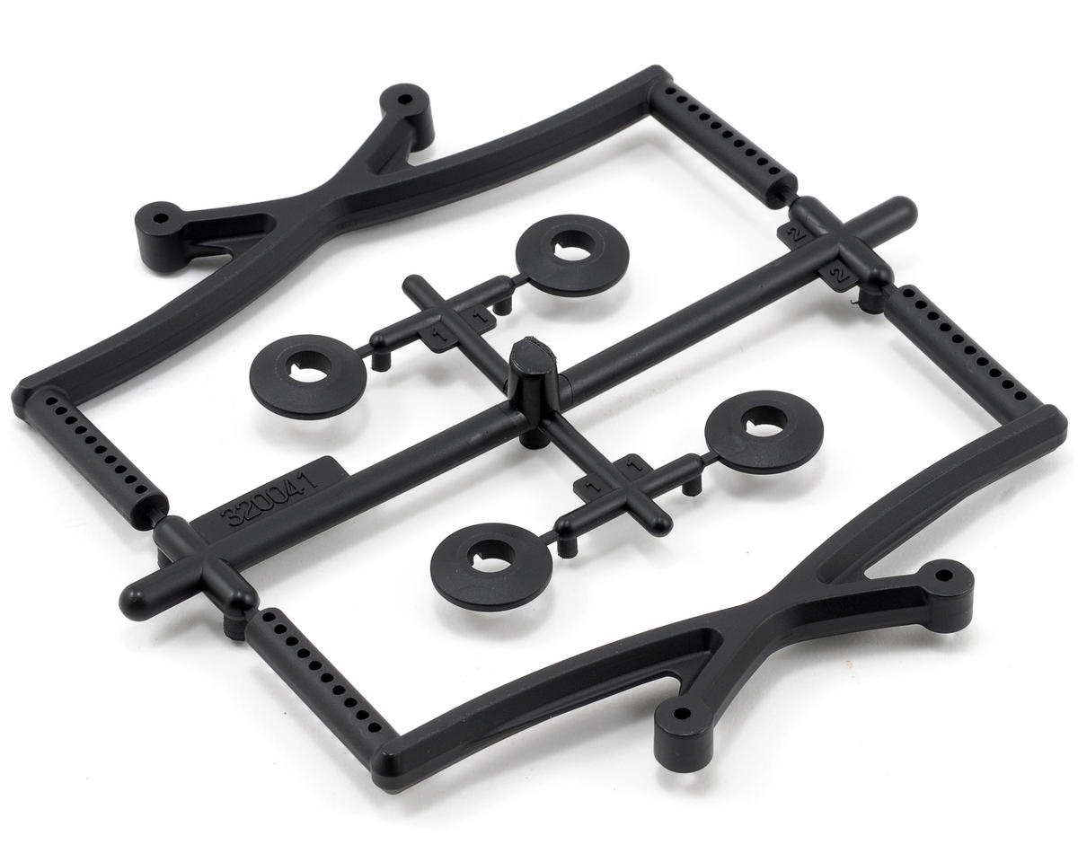 Team Durango Front & Rear Body Mount Set