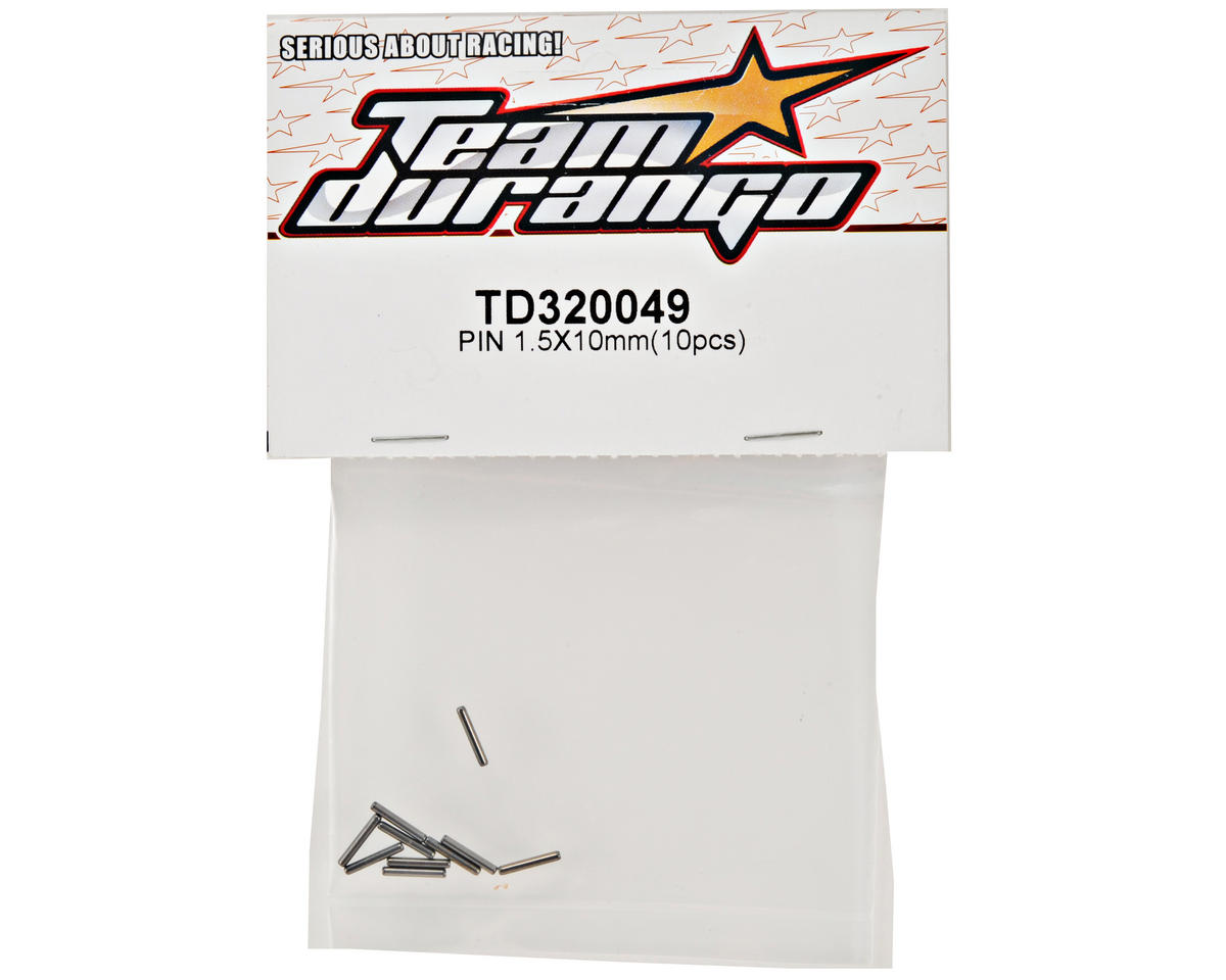 Team Durango 1.5x10mm Pin Set (10)