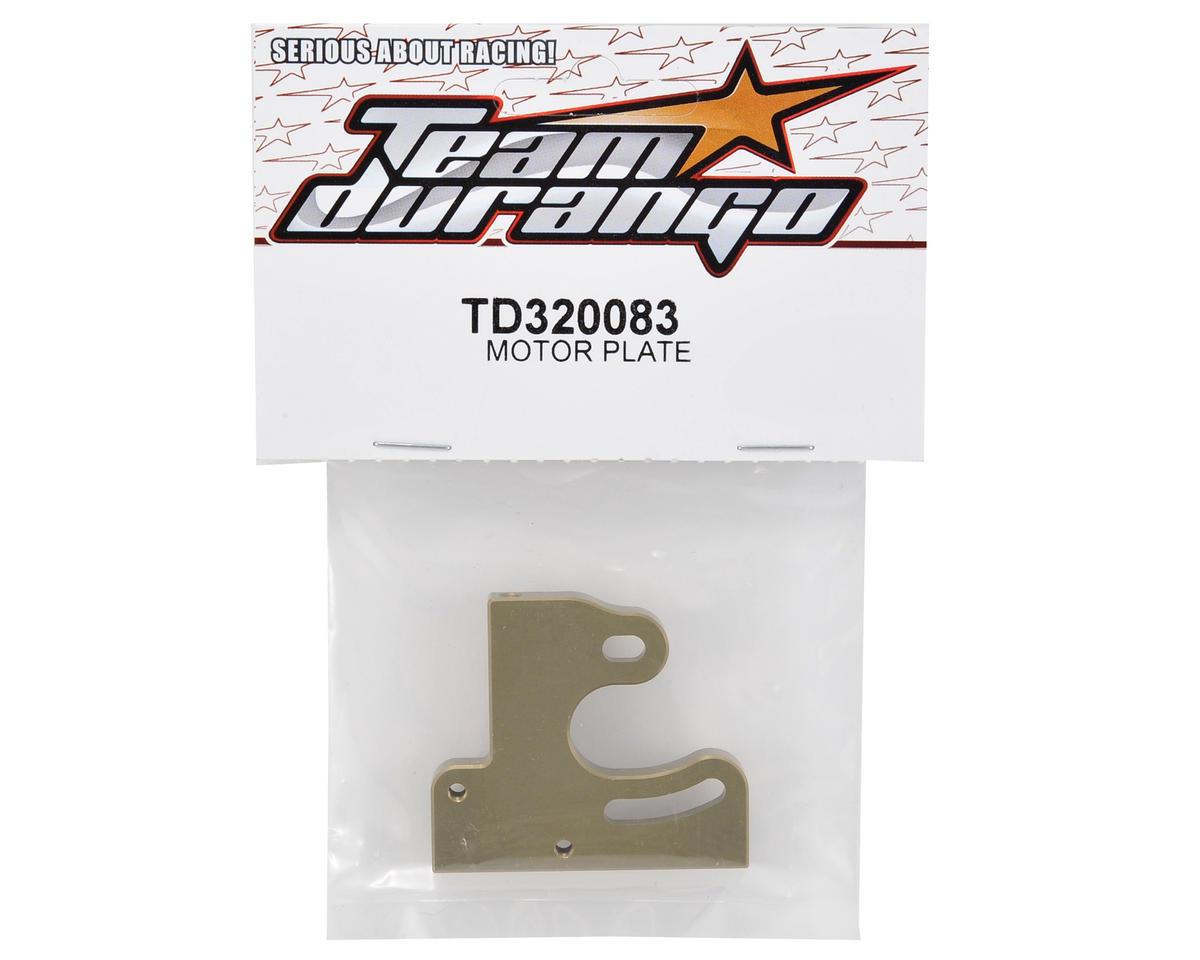 Team Durango Aluminum Motor Plate