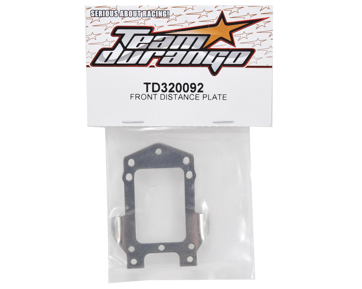 Team Durango Front Distance Plate