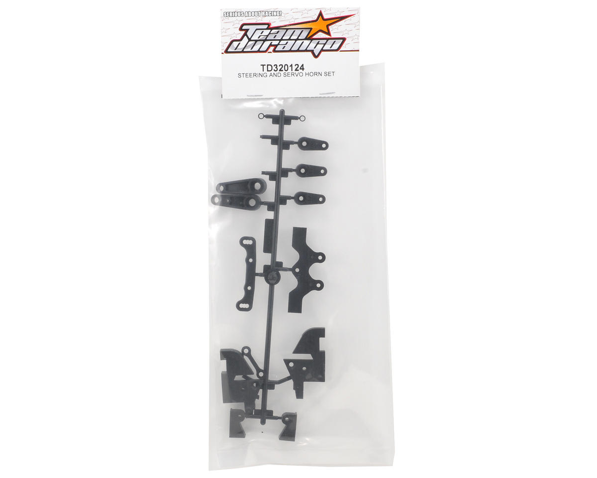 Team Durango Steering Parts & Servo Horn Set
