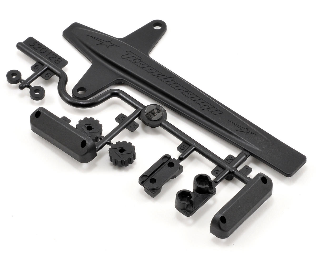 Team Durango Battery Strap & Anti-Roll Bar Mount Set