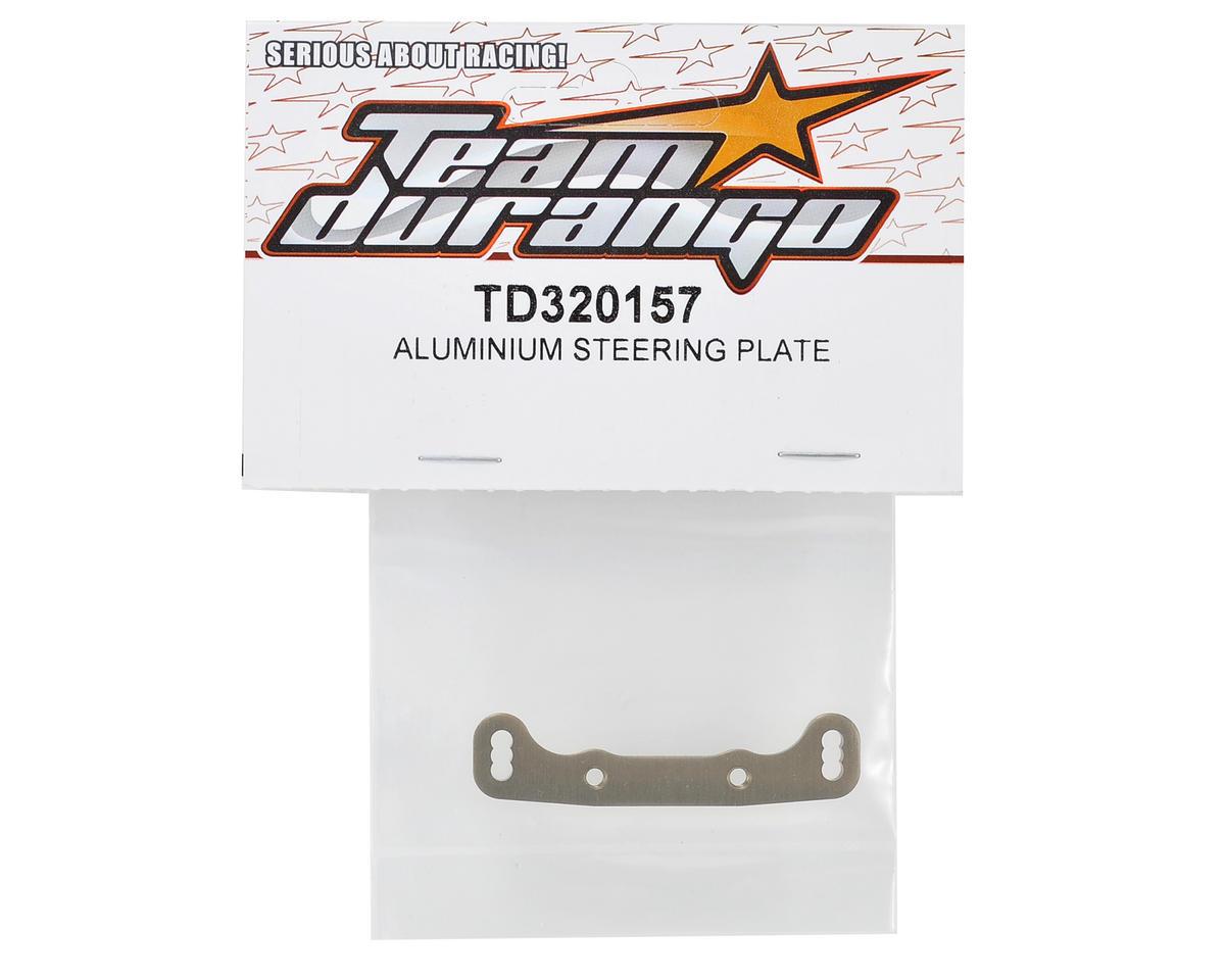Team Durango Aluminum Steering Plate