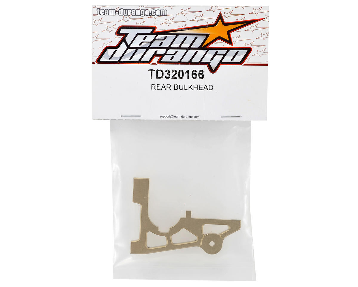 Team Durango Rear Bulkhead