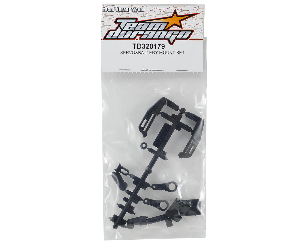 Team Durango Servo/Battery Mount Set