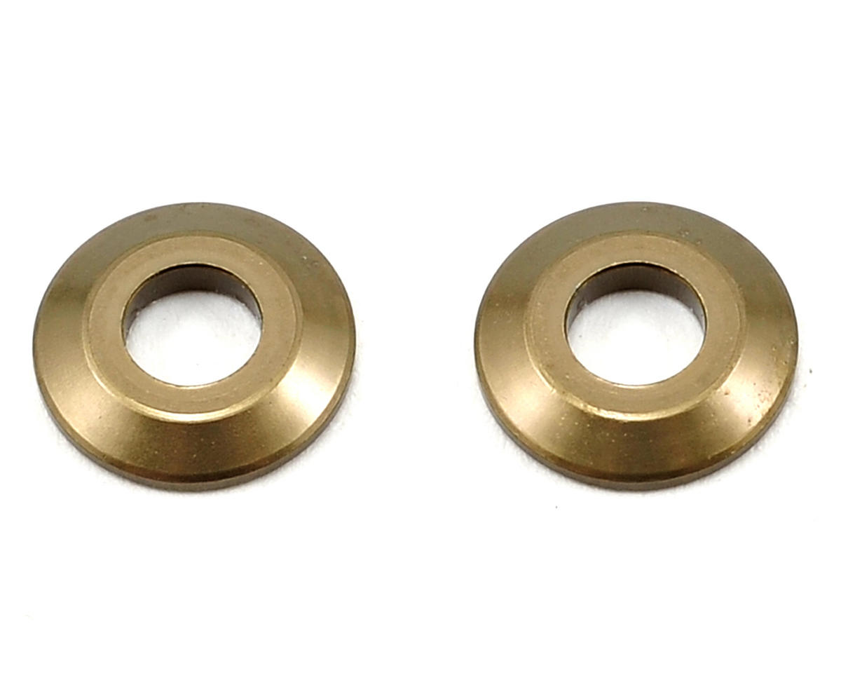 Team Durango Aluminum Wing Button (Olive) (2)