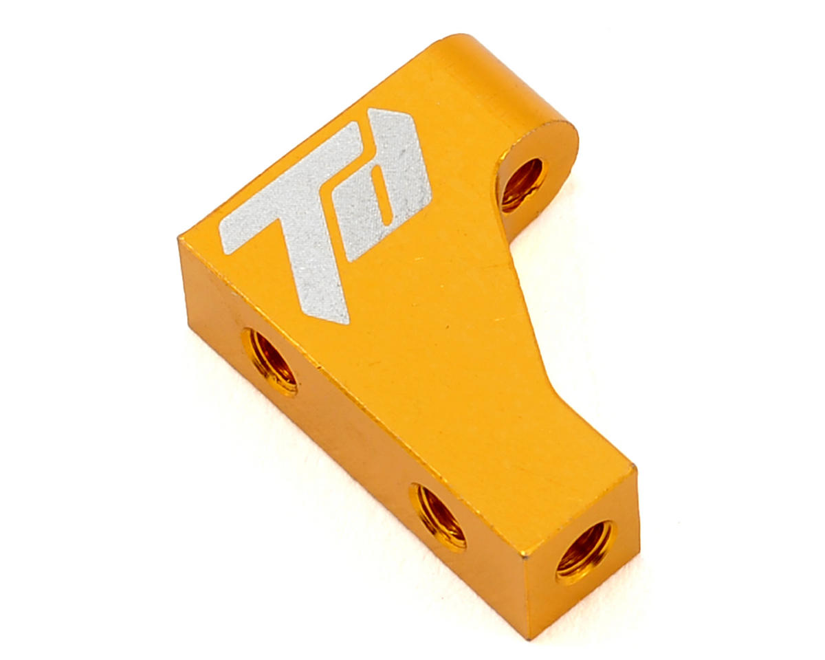 Team Durango Aluminum Servo Mount (Gold) (Outer)