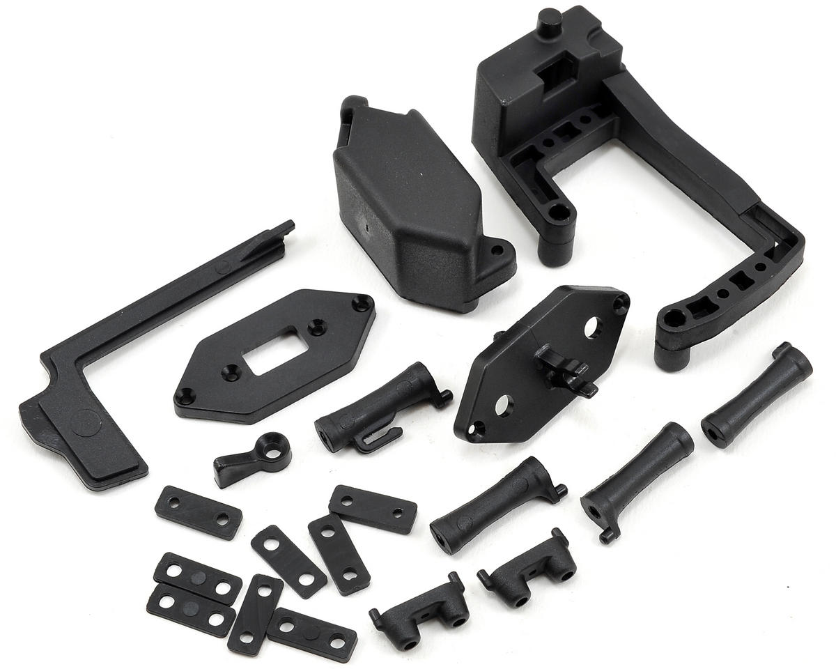 Team Durango Radio Tray Molded Part Set