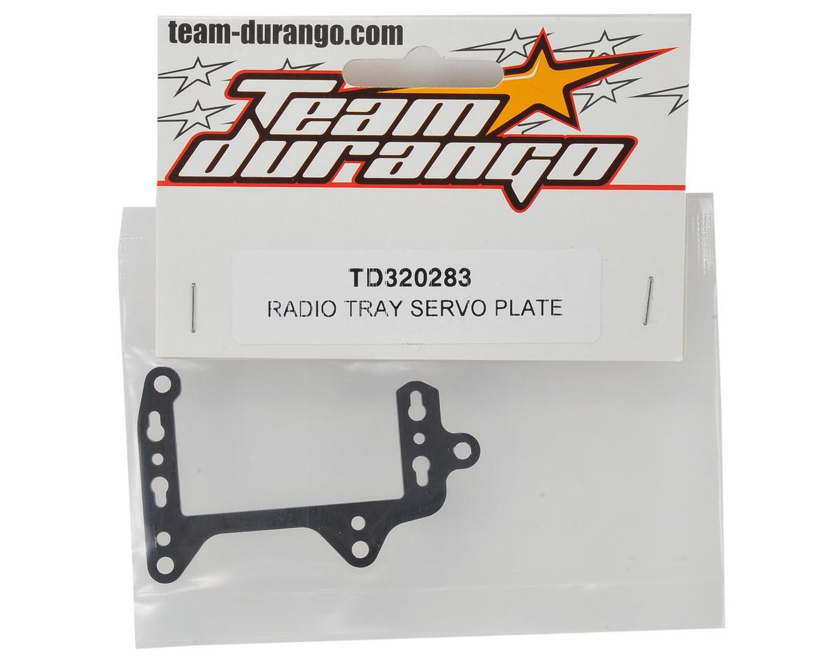 Team Durango Radio Tray Servo Plate