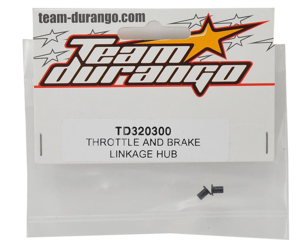 Team Durango Throttle Brake Linkage Hub (2)