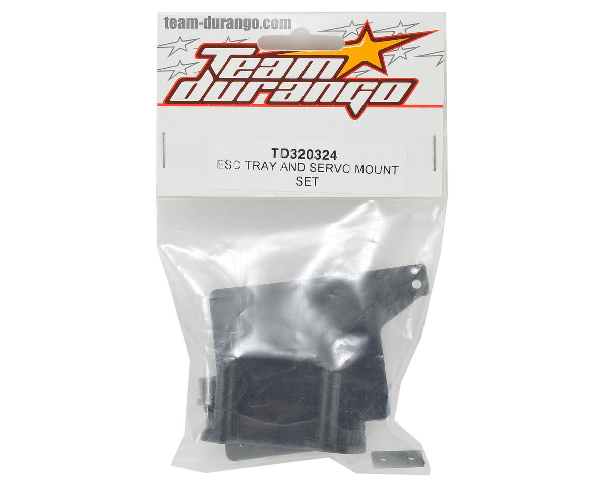 Team Durango ESC Tray/Servo Mount Set