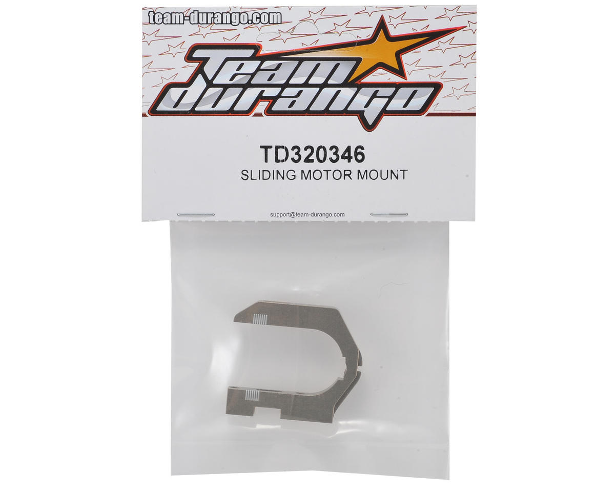 Team Durango Sliding Motor Mount