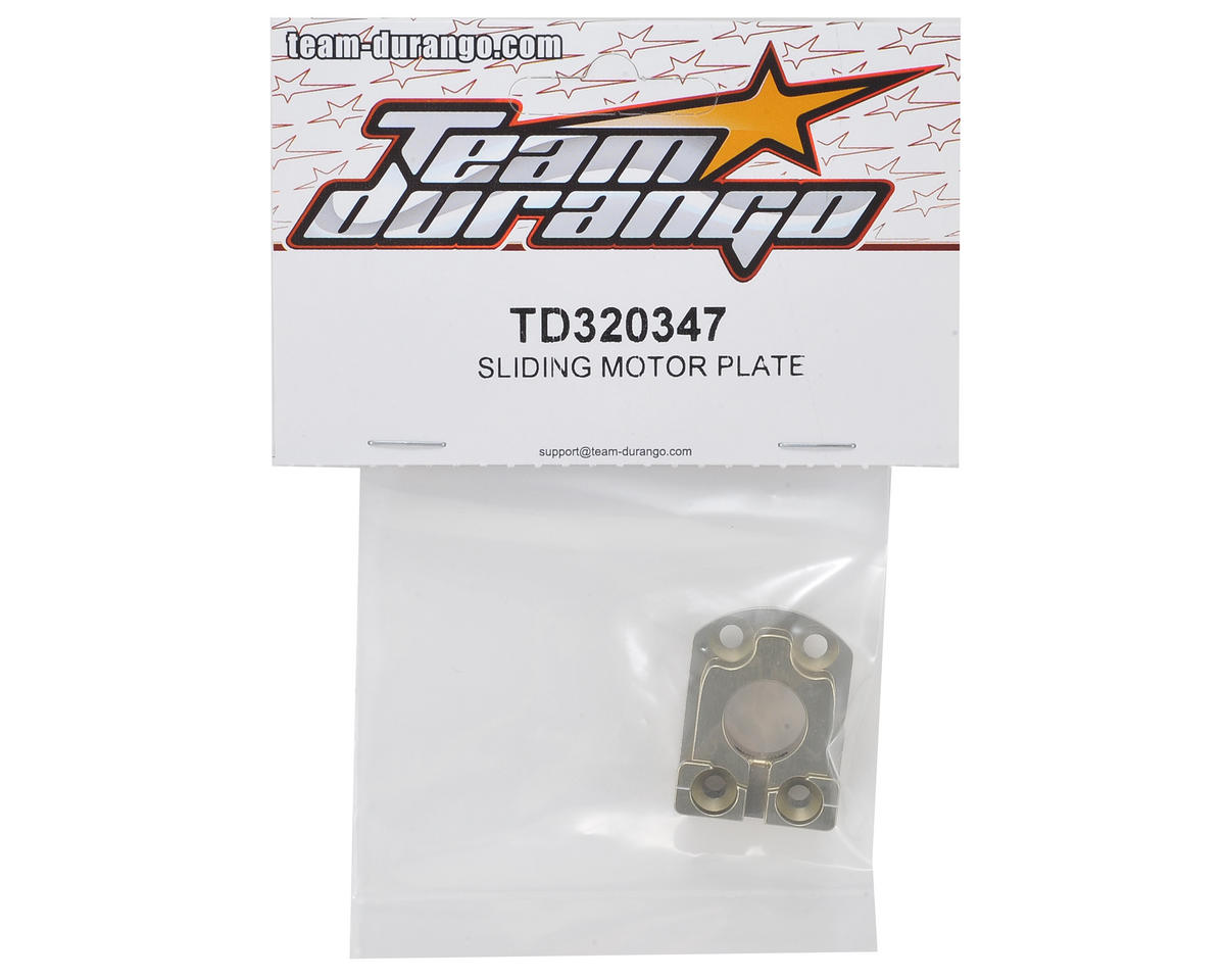 Team Durango Sliding Motor Plate