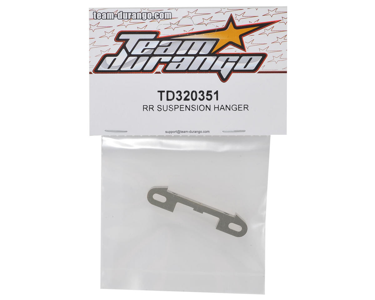 Team Durango Rear Suspension Hanger