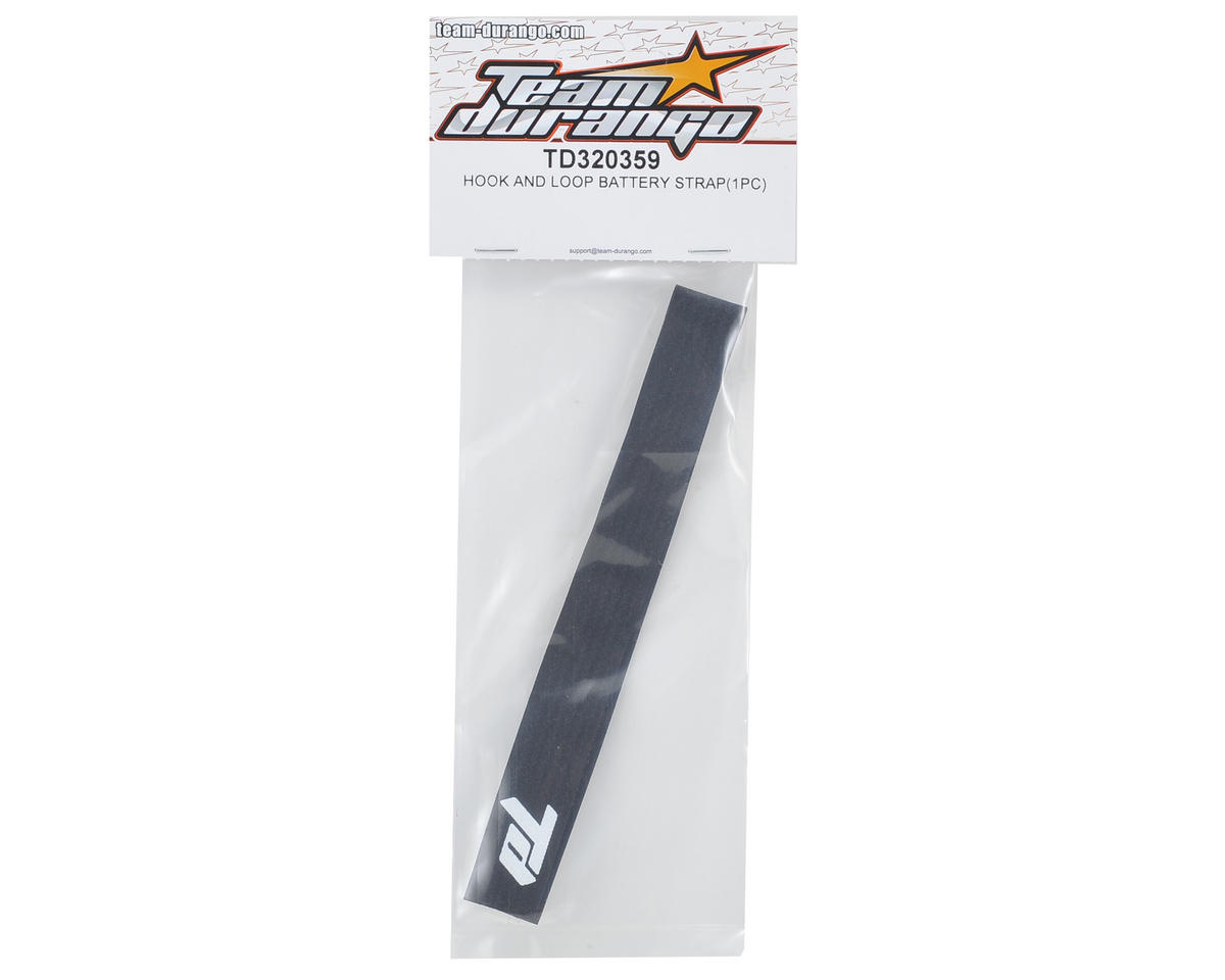 Team Durango Hook & Loop Battery Strap