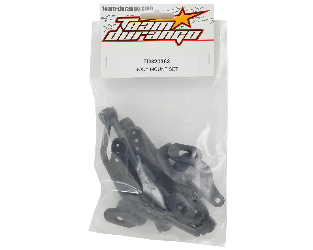 Team Durango Body Mount Set
