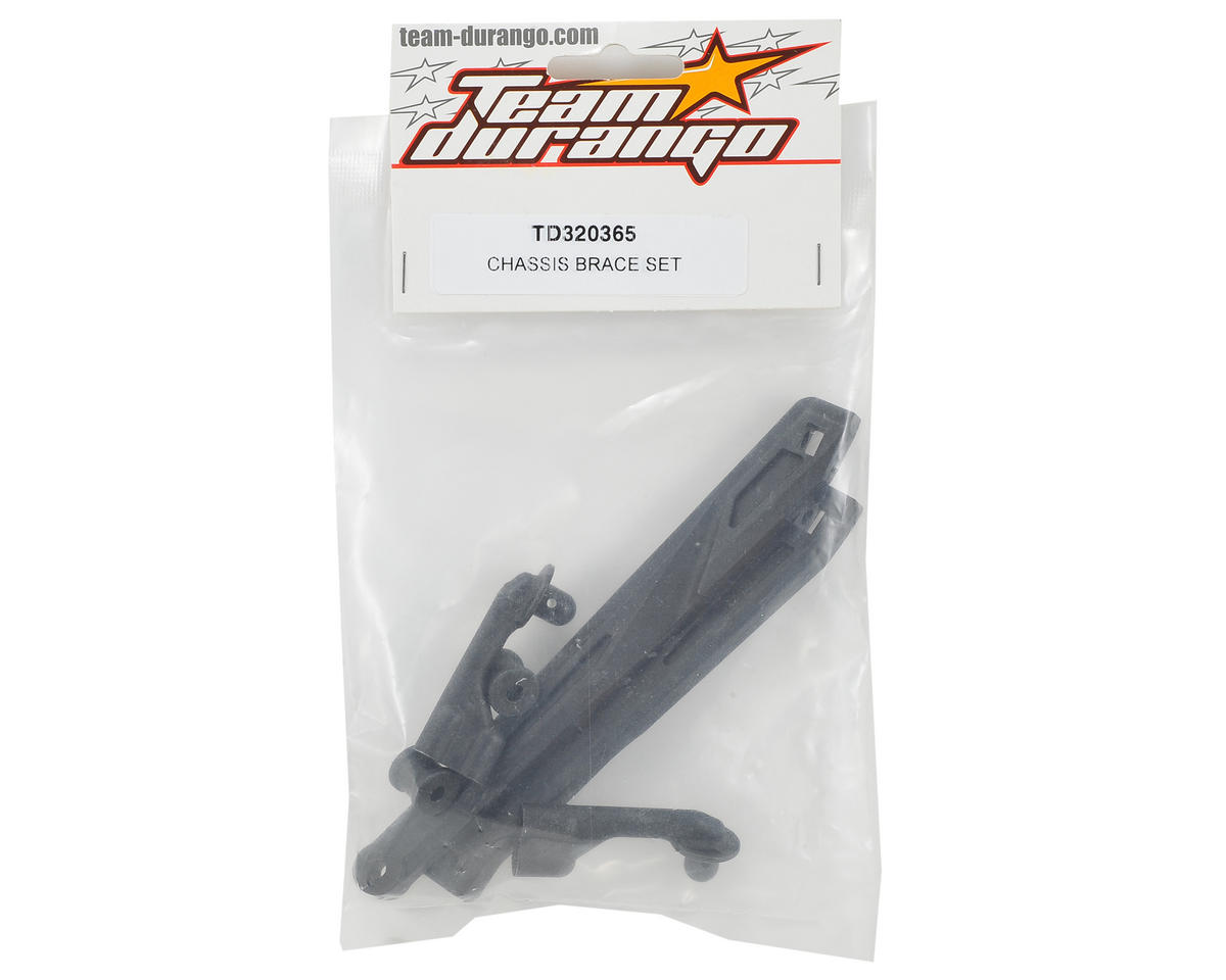 Team Durango Chassis Brace Set