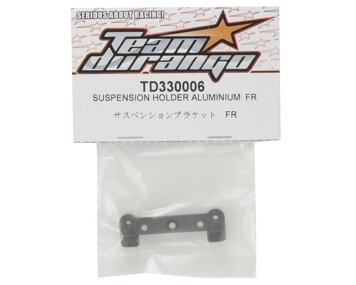 Team Durango Aluminum Front/Inner Suspension Holder