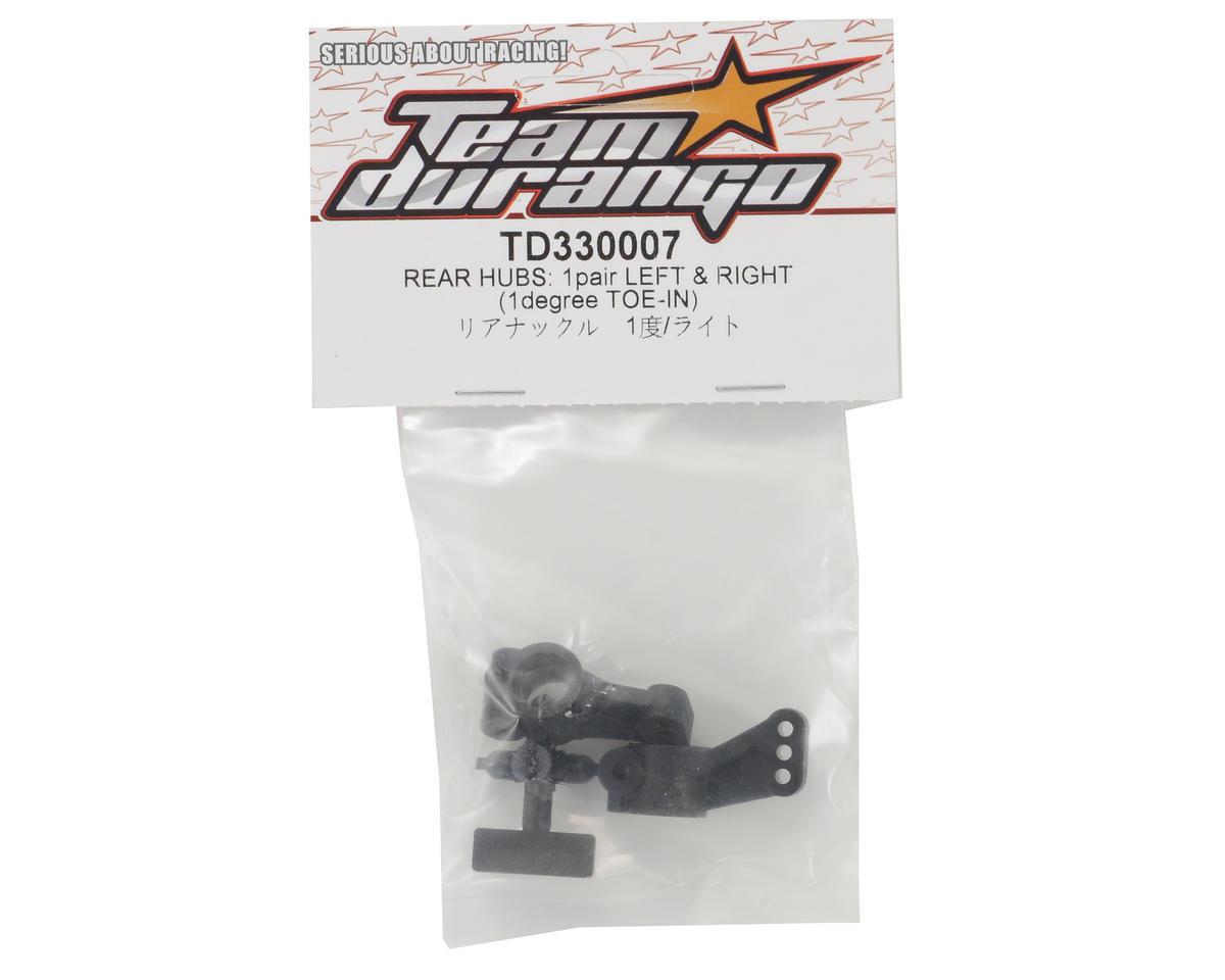 Team Durango 1° Rear Hub Set (2)