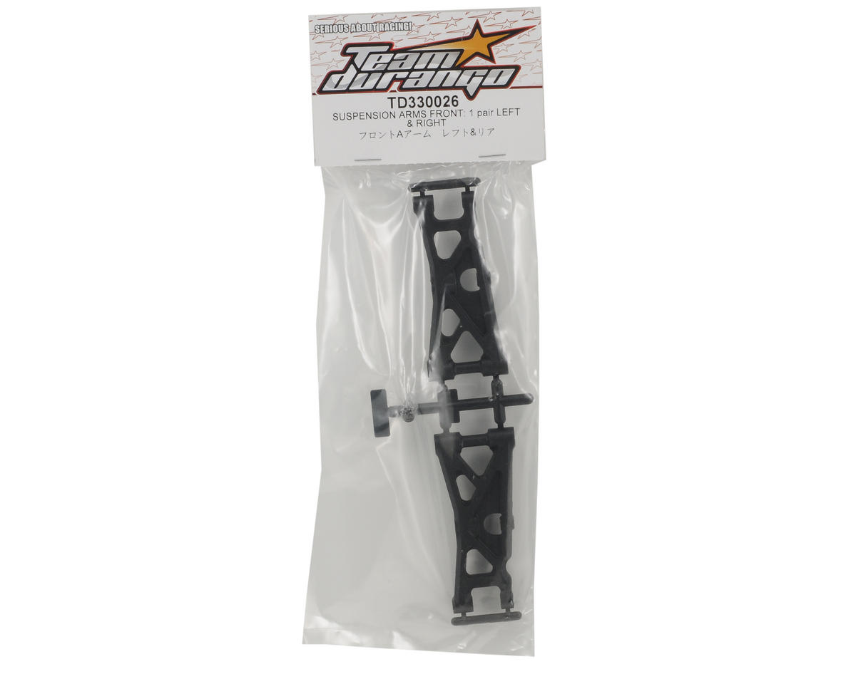 Team Durango Front Suspension Arm Set
