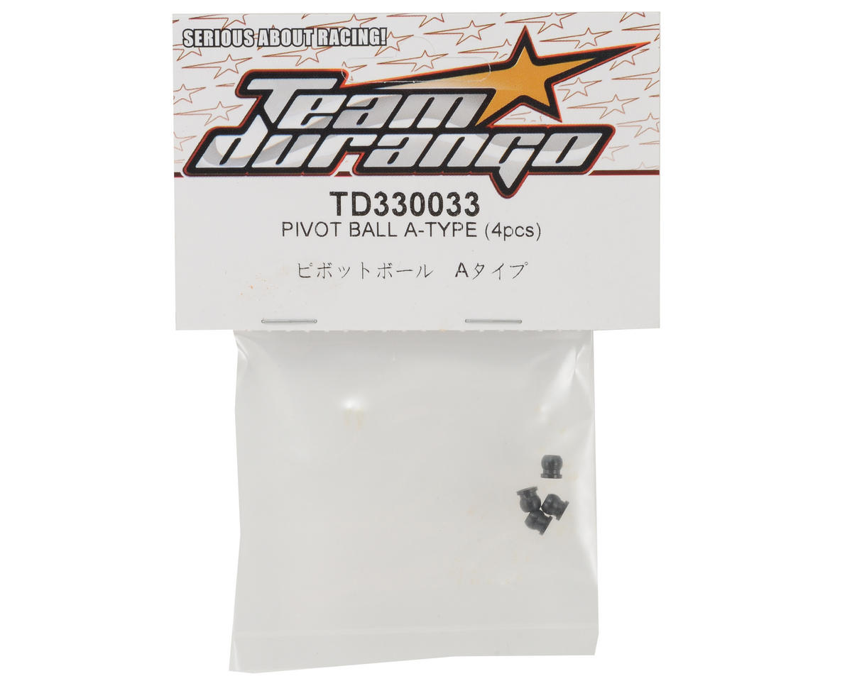 "Team Durango ""A-Type"" Pivot Ball Set (4)"
