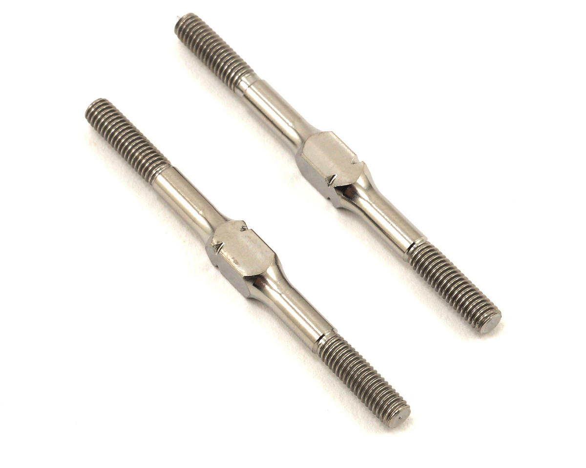Team Durango DEX410 V3 43mm Titanium Turnbuckle Set (2)