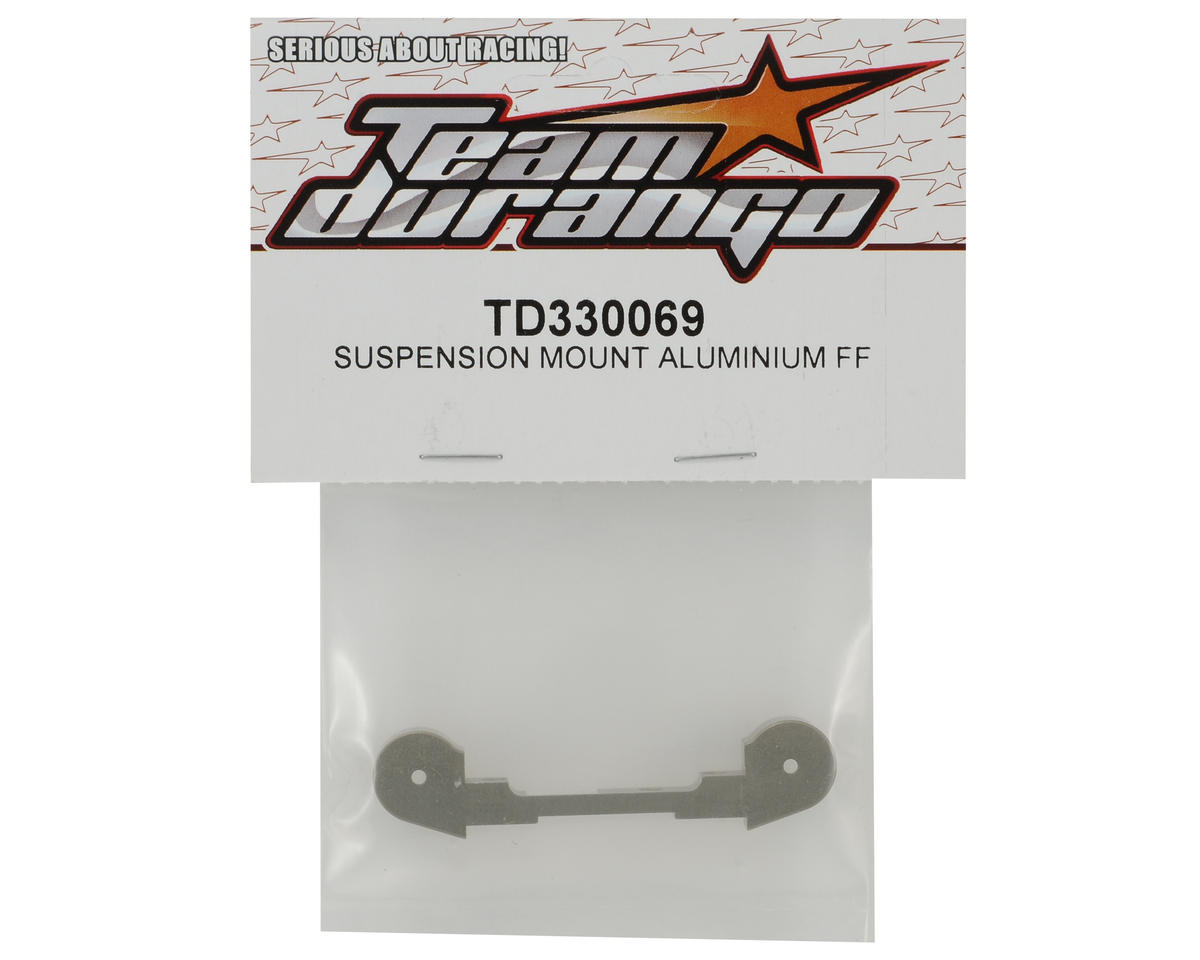 Team Durango Aluminum Front/Outer Suspension Holder