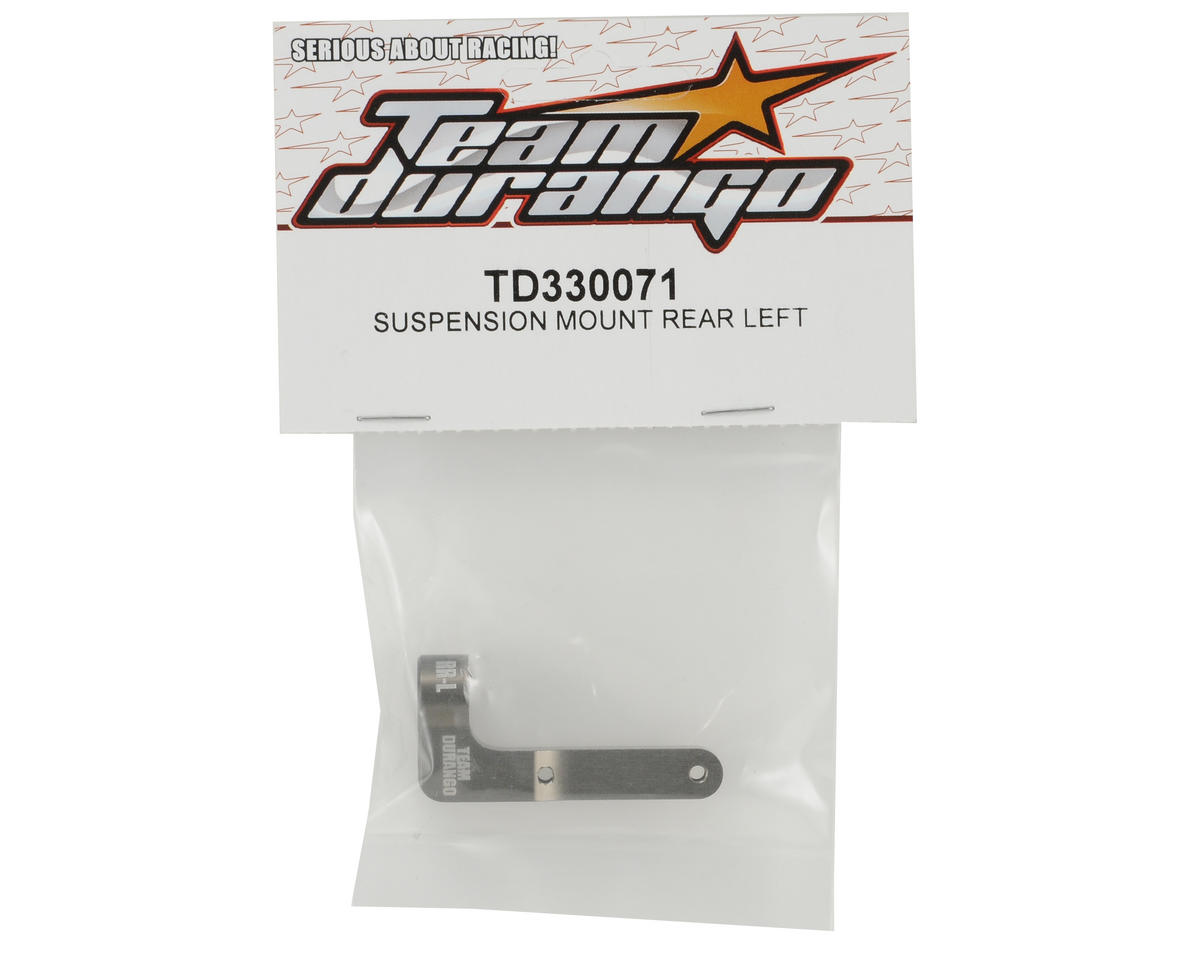 Team Durango Rear Suspension Mount (Left)