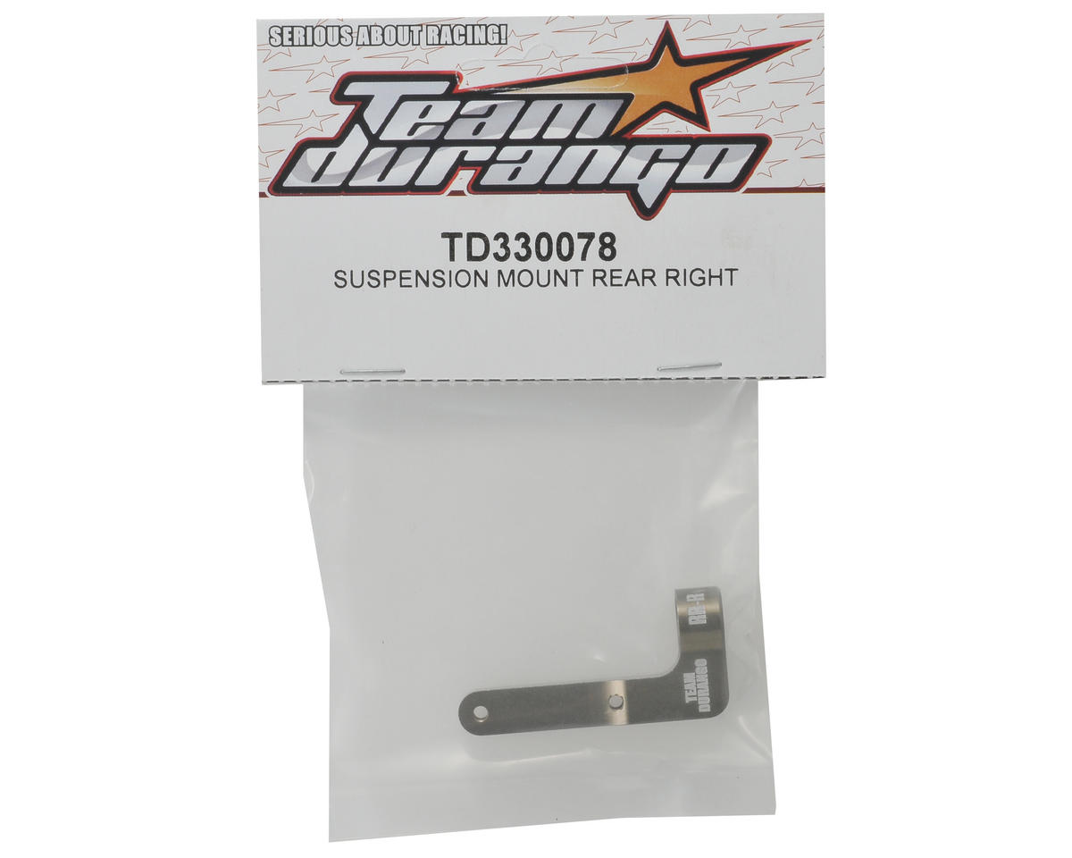 Team Durango Suspension Mount (Rear/Right)